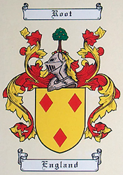 Root Family Coat of Arms